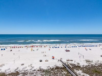 Photo for GULF FRONT CONDO, IN THE MIDDLE OF IT ALL IN ORANGE BEACH! BEAUTIFUL VIEWS!