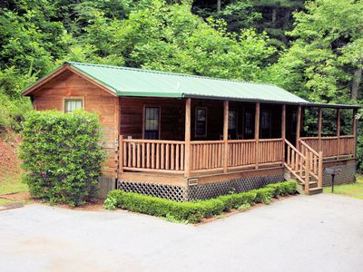 Photo for Big Bear Cabin Rentals 2 BD/1 BA Moose Cabin - Close to Town, Quiet, Wooded View