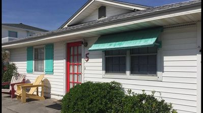Photo for 2nd Avenue Pet Friendly Tybee Cottage Just Steps from Beach