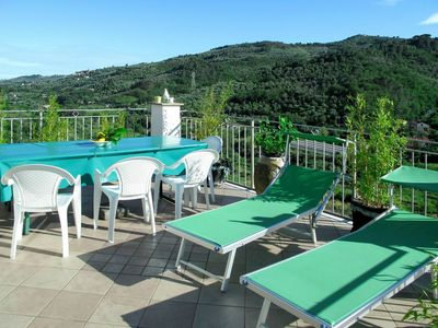 Photo for Lovely apartment for 7 guests with WIFI, TV, balcony and pets allowed