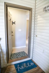 Welcome to our walk-in one bedroom, one bathroom condo! Keyless entry.