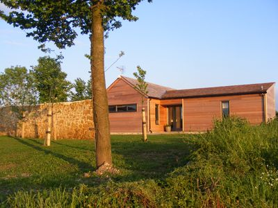 Photo for Private lodge with countryside views and Hot tub