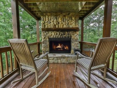 Photo for Misty Mountain is the perfect hot spot for relaxing and entertaining with delightful mountain vistas