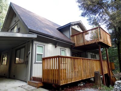 Beautiful 2-story A-frame home in scenic mountain setting