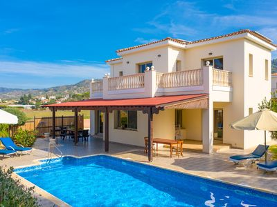 Photo for Villa Jan Lui: Large Private Pool, Walk to Beach, Sea Views, A/C, WiFi, Eco-Friendly