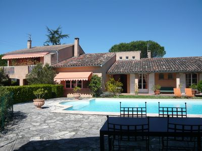 Photo for Charming Villa painter - private pool - Label Clévacances 4 Keys