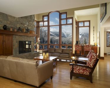 Photo for LUXURY 6 bedrooms-6.5 bath The Mountainside House - SKi OFF in Killington!