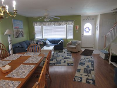 Photo for Large 3 Bedroom Townhouse with Heated Pool 2 blocks from Morey`s Pier and Beach!