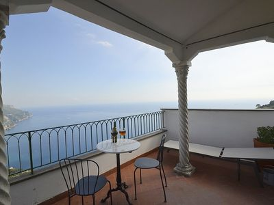 Photo for 3 bedroom Apartment, sleeps 5 in Ravello with Air Con and WiFi