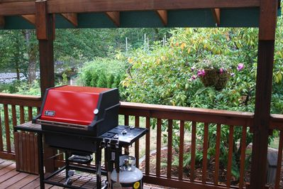 BBQ on Riversong Deck