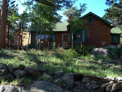Photo for Kiefer Cabin with Splendid Longs Peak Views near Rocky Mountain National Park