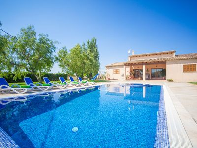 Photo for SON CRESTES - Villa with private pool in Sa Pobla.
