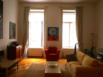 Photo for Spacious Beautiful Apartment in the Best Budapest Location