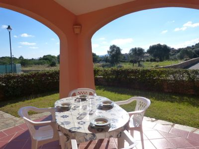 Photo for Air-Conditioned Home Short Walk from Beach with Wi-Fi, Garden & Terrace; Pets Allowed
