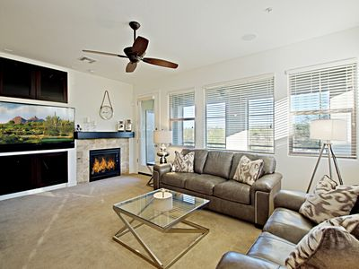 Photo for Extraordinary Views from Lovely 2 Bed Townhouse in North Scottsdale