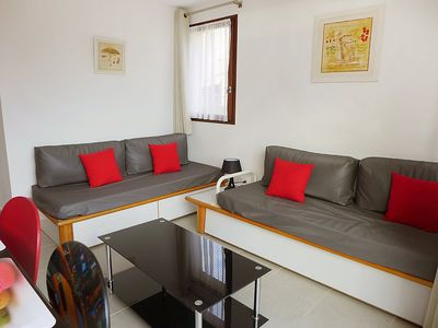 Photo for Apartment in Sainte-Maxime with Parking, Internet, Washing machine, Pool (134909)