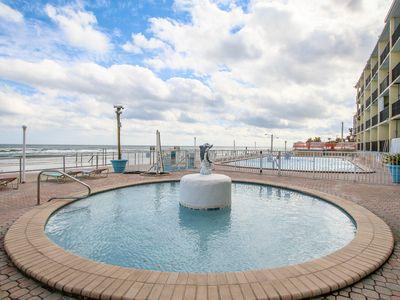 Photo for NEW LISTING! Inviting studio w/shared pool & short walk to pier