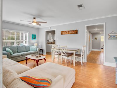 Photo for Dog-friendly, family-friendly getaway w/private gas grill, deck, & ocean views