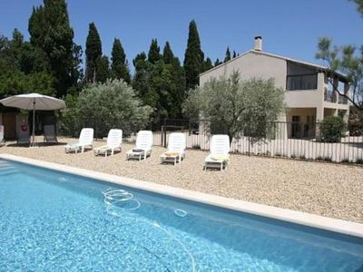 Photo for Alpilles Eygalieres independent house not overlooked great wifi private pool