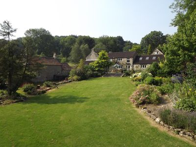 Photo for RIVERSIDE HOUSE + Coach House, near Bath: rated AA 5 stars (for 8 -18 guests)