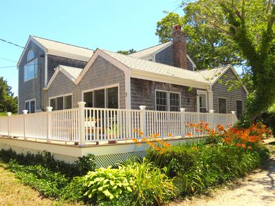 Photo for Roomy, Bright Home 4 Minute Walk to Beach in Brewster; 047-B