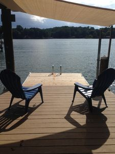 Photo for Charming Renovated Waterfront Home with Sunset Views & Deep Water on Wide Cove