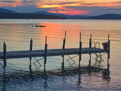 Photo for 3 BR Niboban Cabin on Rangeley Lake  ~ Book your foliage weekend escape today!