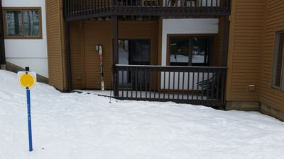 Photo for Ski In/Out. Slopeside. Fireplace. Any closer you will be sleeping on lift.