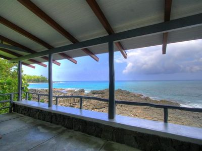 Photo for Beachfront in sunny Kona