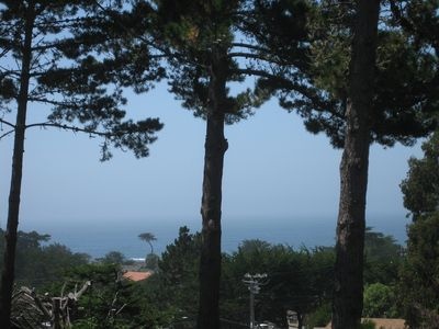 Photo for Moss Beach Home with Ocean Views and Magical Forest