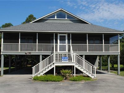 Photo for Great Escape: 4 BR / 2 BA house in Pawleys Island, Sleeps 10
