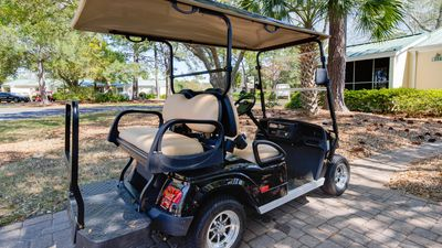 Golf Cart Included With Rental