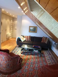 Photo for Charming loft in the heart of the village and the slopes of the feet