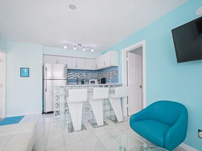 Photo for FAIRWEATER #2 ,5 MIN WALK TO BEACH, MODERN CONDO WITH POOL,WALK TO TIME SQUARE