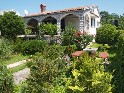 Photo for Majsec A2, 500 m to the sea, 4 people, spacious terrace, free WiFi, BBQ