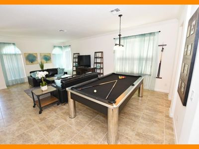 Photo for Watersong Resort 13 - Villa with stylish living areas & private pool - nr Disney