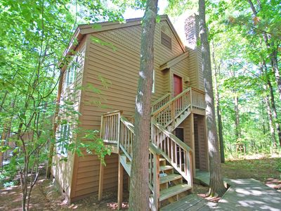 Photo for Cheerful 1BR/1BA hillside condo in Glen Arbor's Homestead Resort! Acc: 2