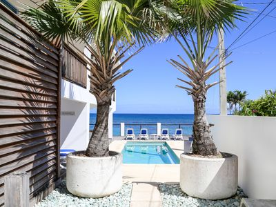 Photo for Ocean Front w/ Salt water pool