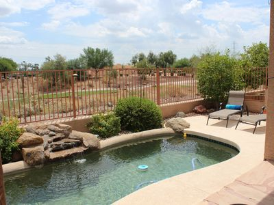 Photo for Private pool on 1st Hole at Coyote Lakes, a real Surprise AZ vacation!