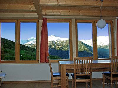 Photo for New Chalet Mase in the Val d'Hérens for 6 people