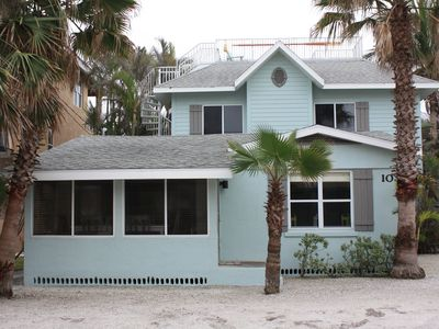 Photo for Salty Snapper Beach House, Steps to Beach, Pool Table, Tropical Yard w/Fire Pit