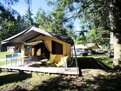 Photo for Camping Huttopia Ile-de-Ré *** - Tent Sweet + 3 Rooms 5 People