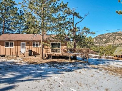 Photo for Rocky Mountain Breezes - Mountain Cabin, 2 bedroom sleeps 4, half acre