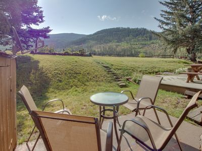 Photo for NEW LISTING! Mountain view condo with easy access to Vail Ski Resort