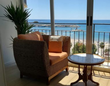 Photo for Cozy apartment in Villajoyosa. It has two bedrooms, a double bed and a single bed. The apa