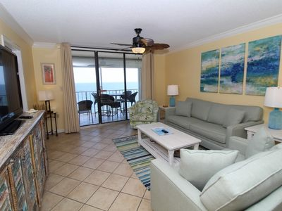 Photo for Summerchase 905 - Beach Front Views from Terrace with Luxurious Interior!