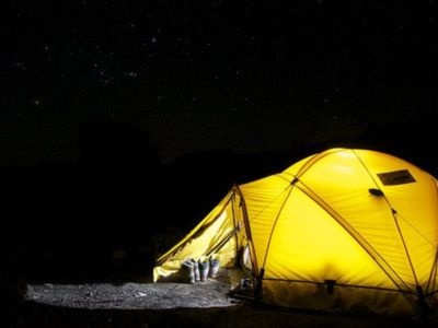 Photo for Mountain camping-Tent included!