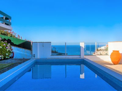 Photo for House with 4 bedrooms with a fantastic view over the sea, close to Sintra