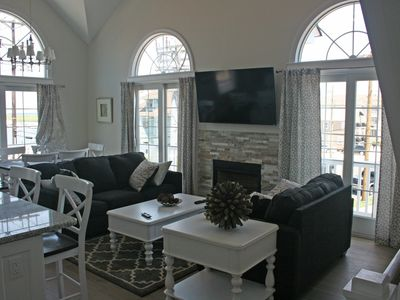 Photo for Stone Harbor with water view! 1 block to downtown (North side)