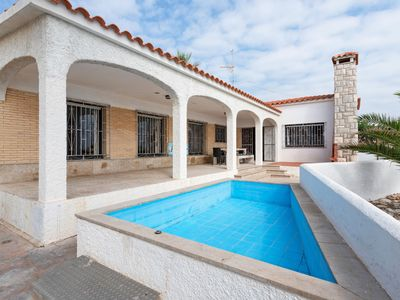 Photo for Stunning Holiday Home on the Spanish Coast with children's pool